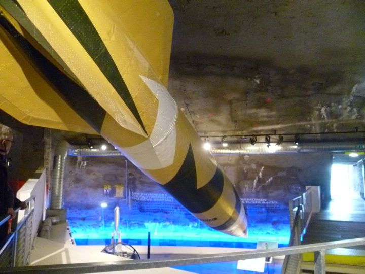V2 Rocket at La Coupole