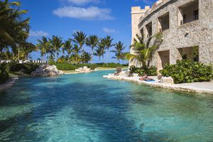 Dominican Republic, Punta Cana, Cap Cana, The Castle section of the Sanctuary Cap Cana Resort and Spa