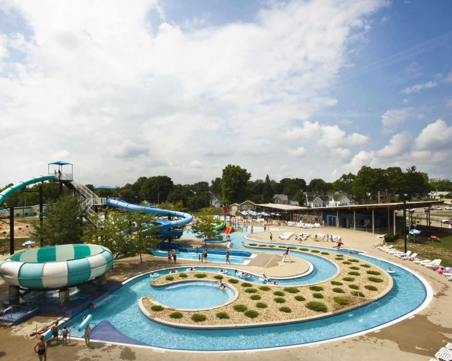Parque acuático Splash House Indiana