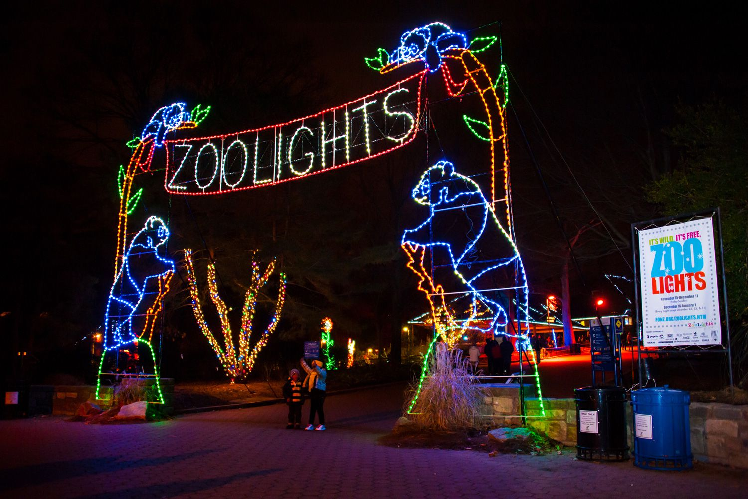 Zoolights Christmas Lights At The National Zoo