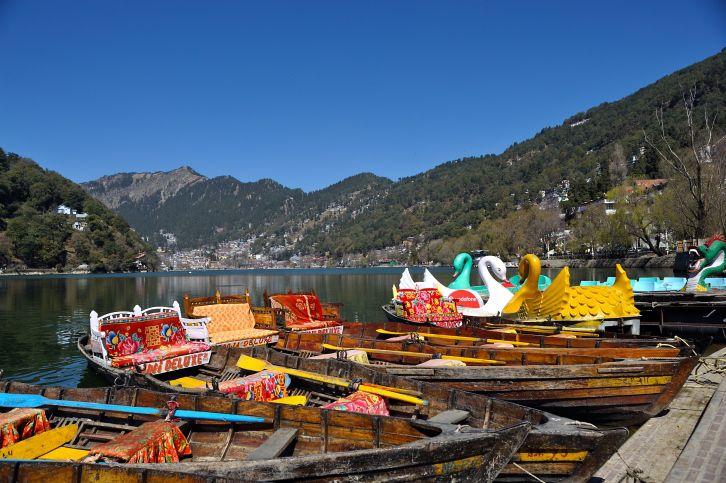 Boats at Nainital