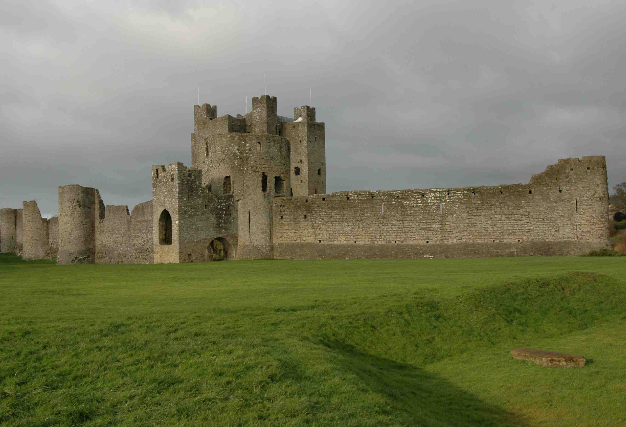 Trim Castle, the largest Anglo-Norman castle in Ireland