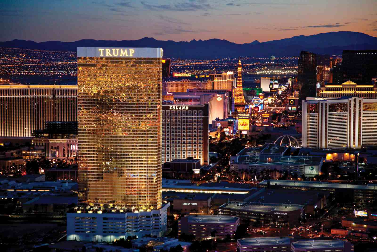 Trump Las Vegas hotel on the Strip