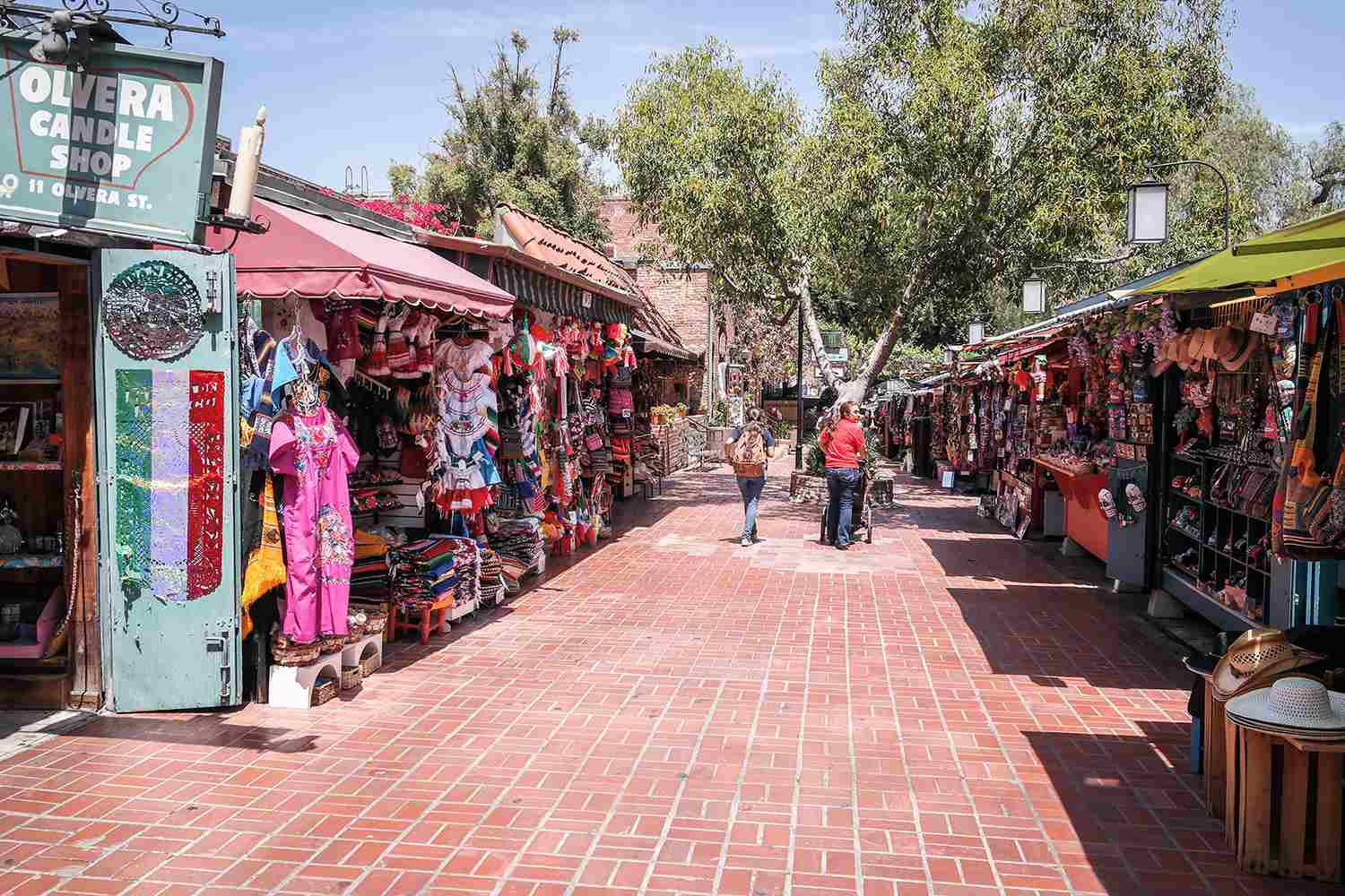 Olivera Street in the Los Angeles Plaza Historic District
