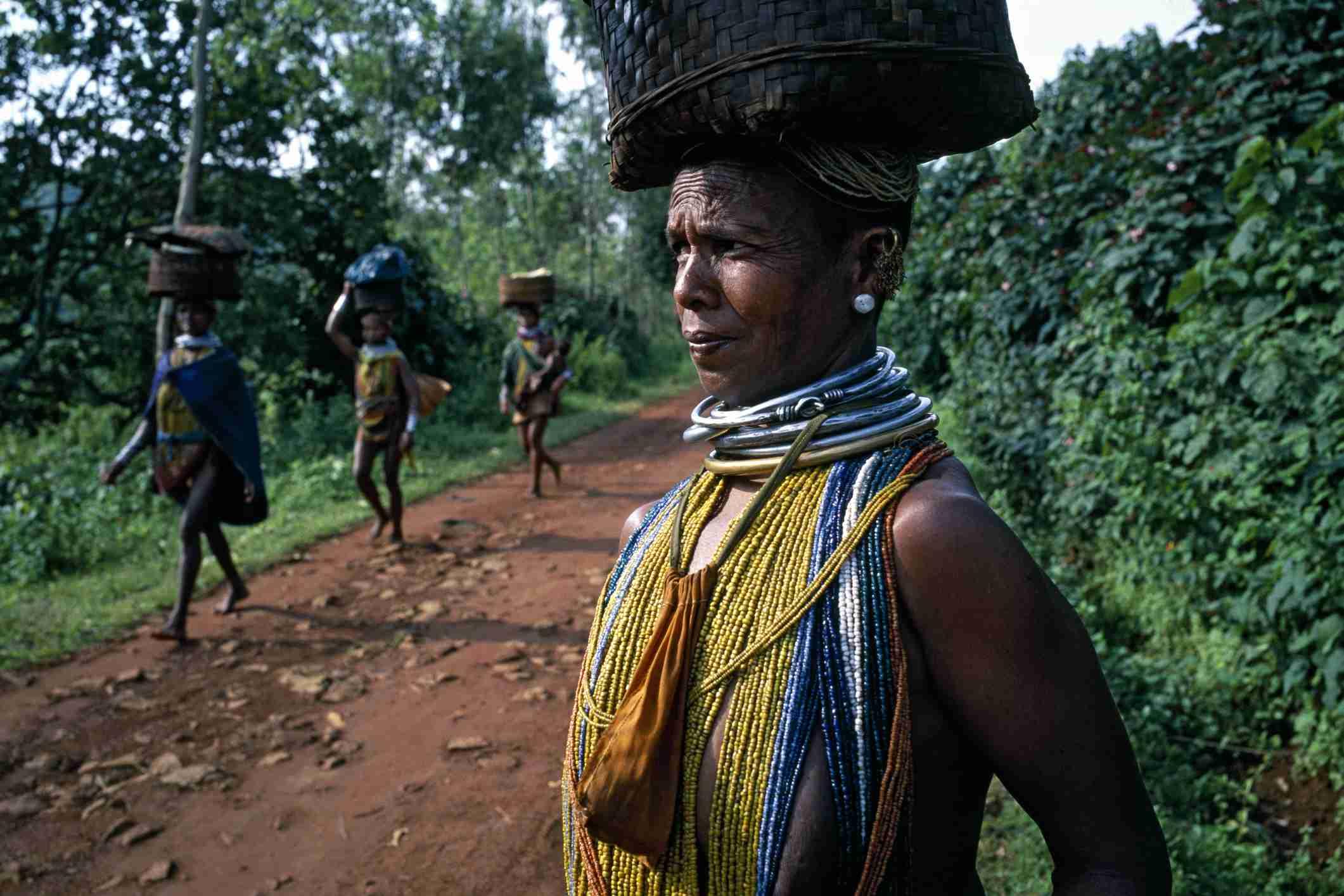 Bondo Tribeswomen in Odisha.