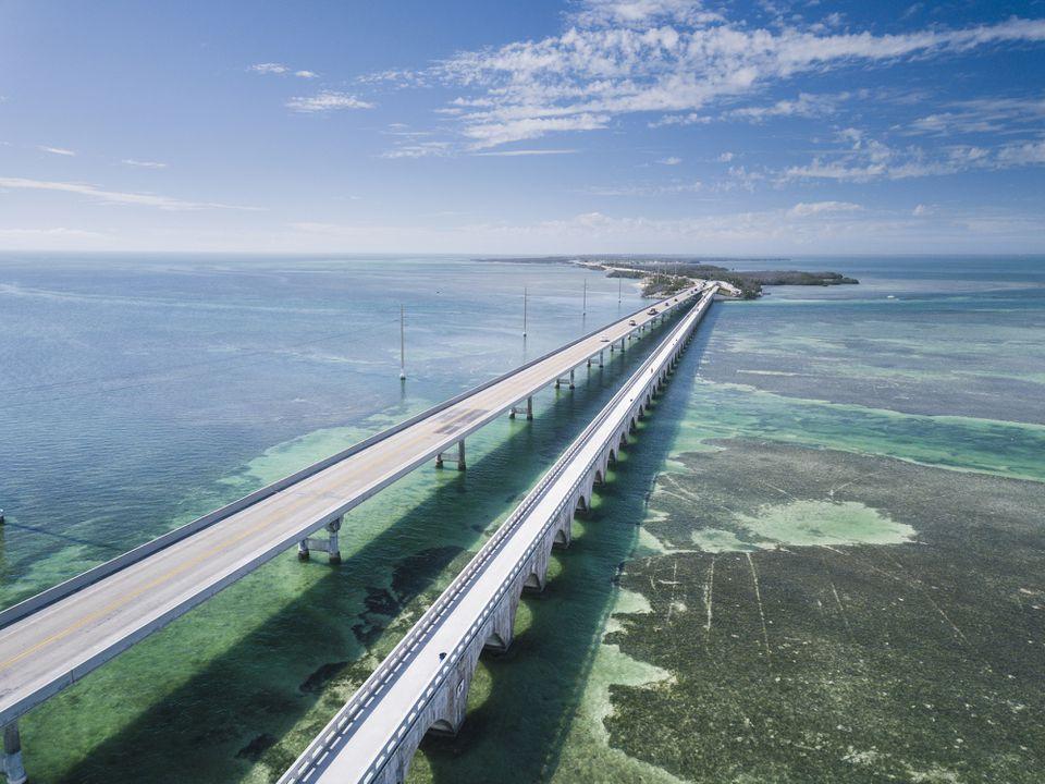 Puente Seven Mile en Cayos de Florida