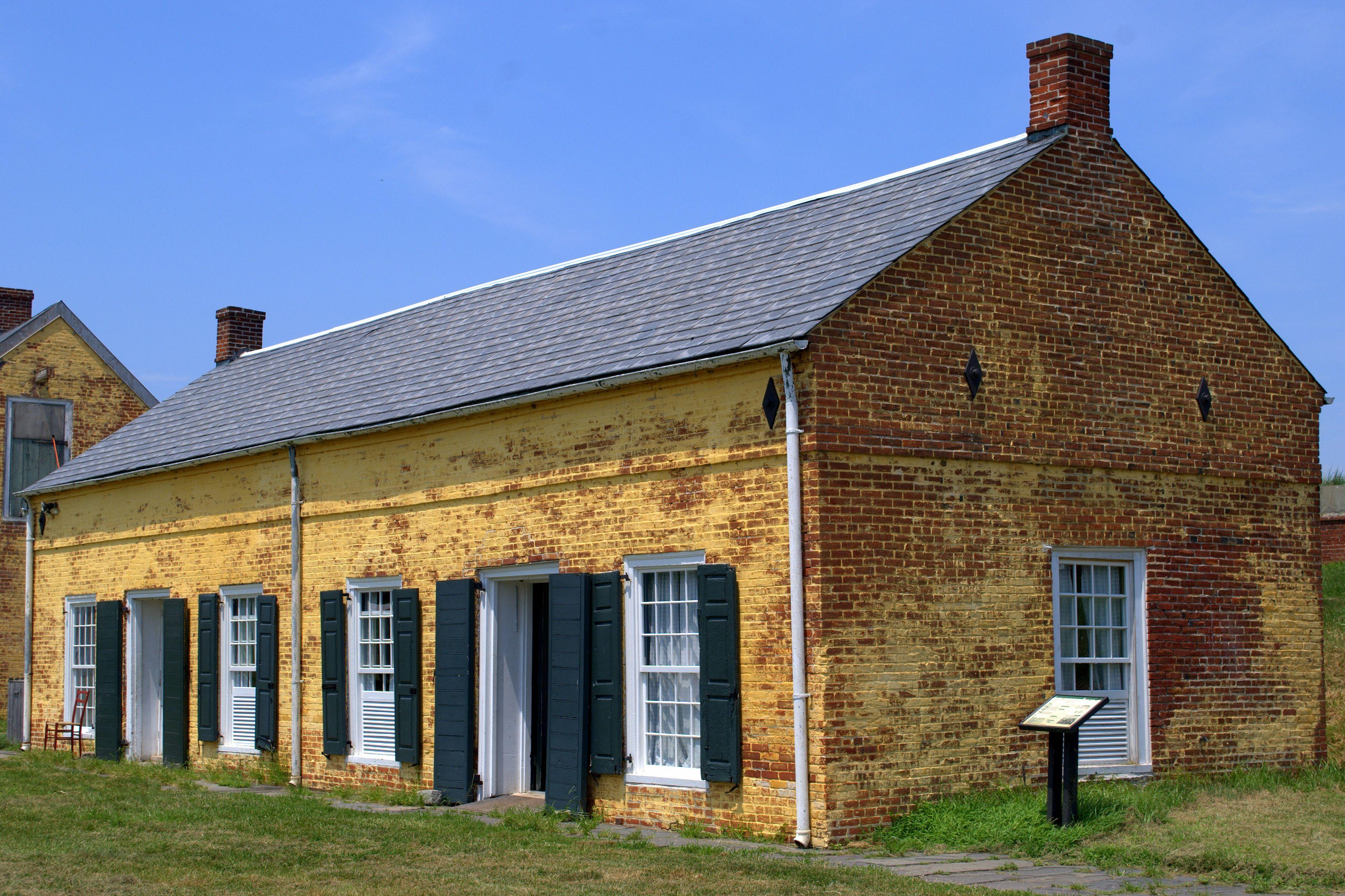 Fort Mifflin Quartermasters house in Pennsylvania.