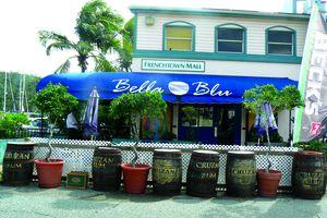 Bella Blu restaurant, St. Thomas, USVI