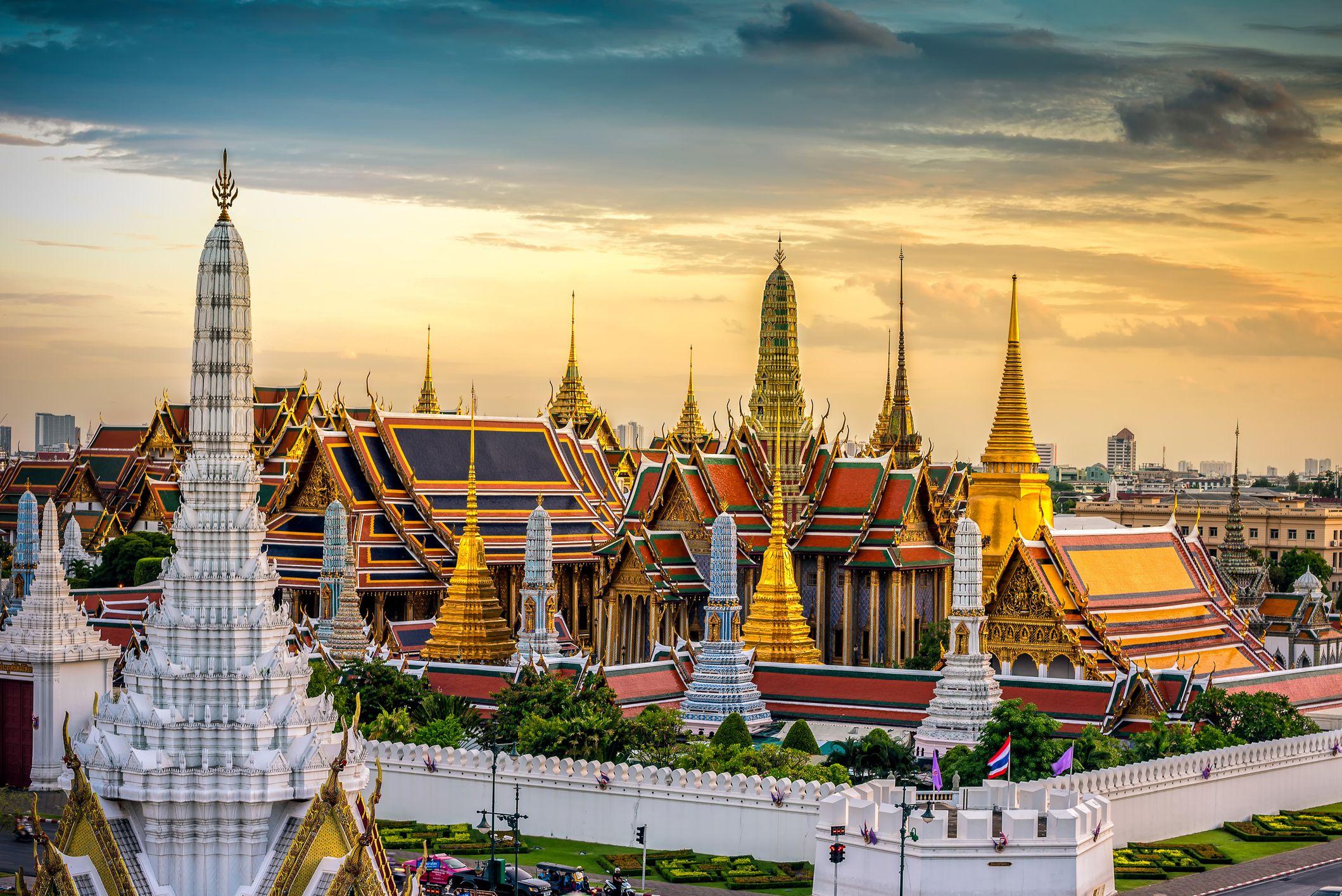 Emerald Buddha and temple in Bangkok