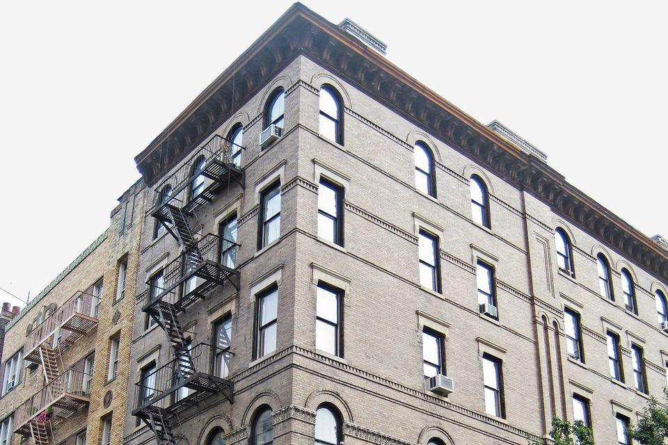 Friends Building Greenwich Village