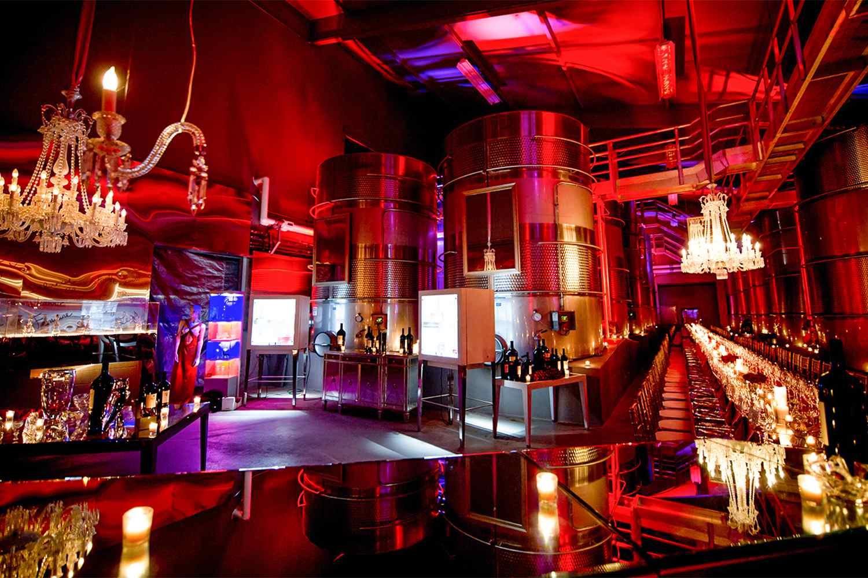 Crystal Cellar at Raymond Vineyards