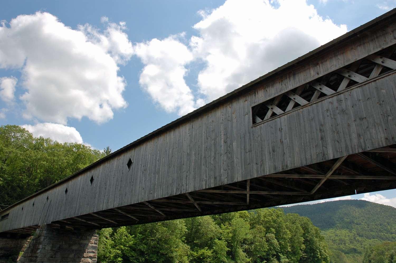 Puente cubierto de Vermont, puente cubierto de West Dummerston