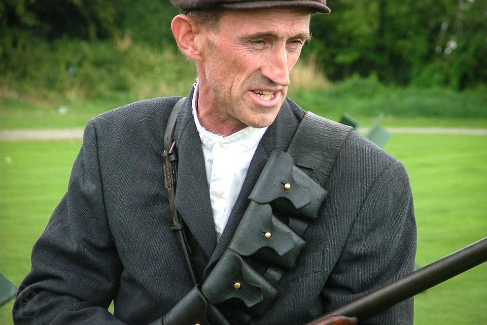 Irish Republican Army reenactor - the days of the Anglo-Irish War brought to life
