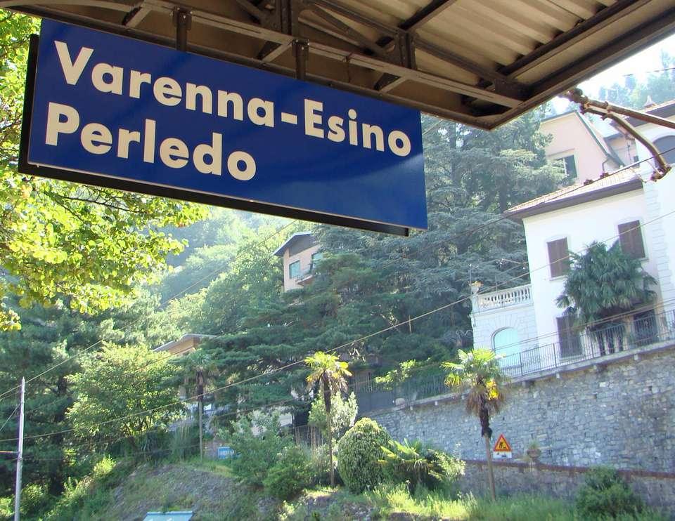 La estación Varenna-Esino es la puerta de entrada a las ciudades turísticas del lago Como.