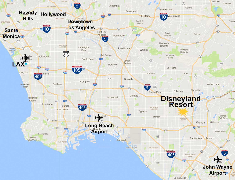 Disneyland Map California Maps of the Disneyland Resort