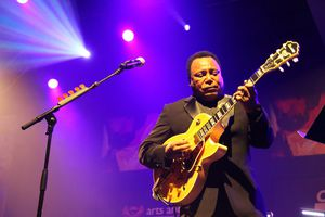 George Benson live at the Cape Town International Jazz Festival