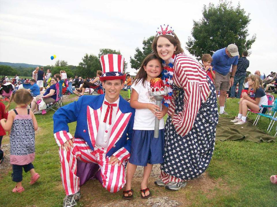 Fourth of July celebration in Leesburg