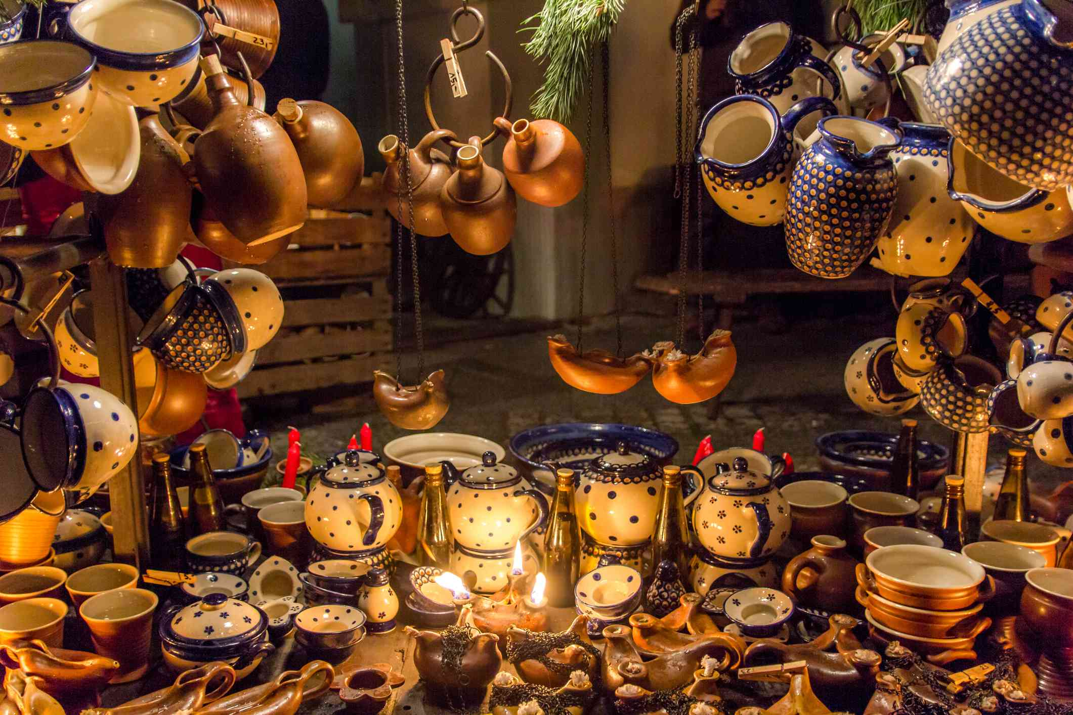 Vintage pots and pans