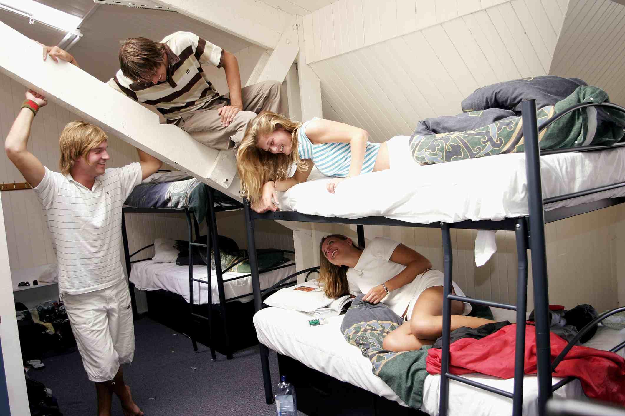 Hostel life: fun and sociable!
