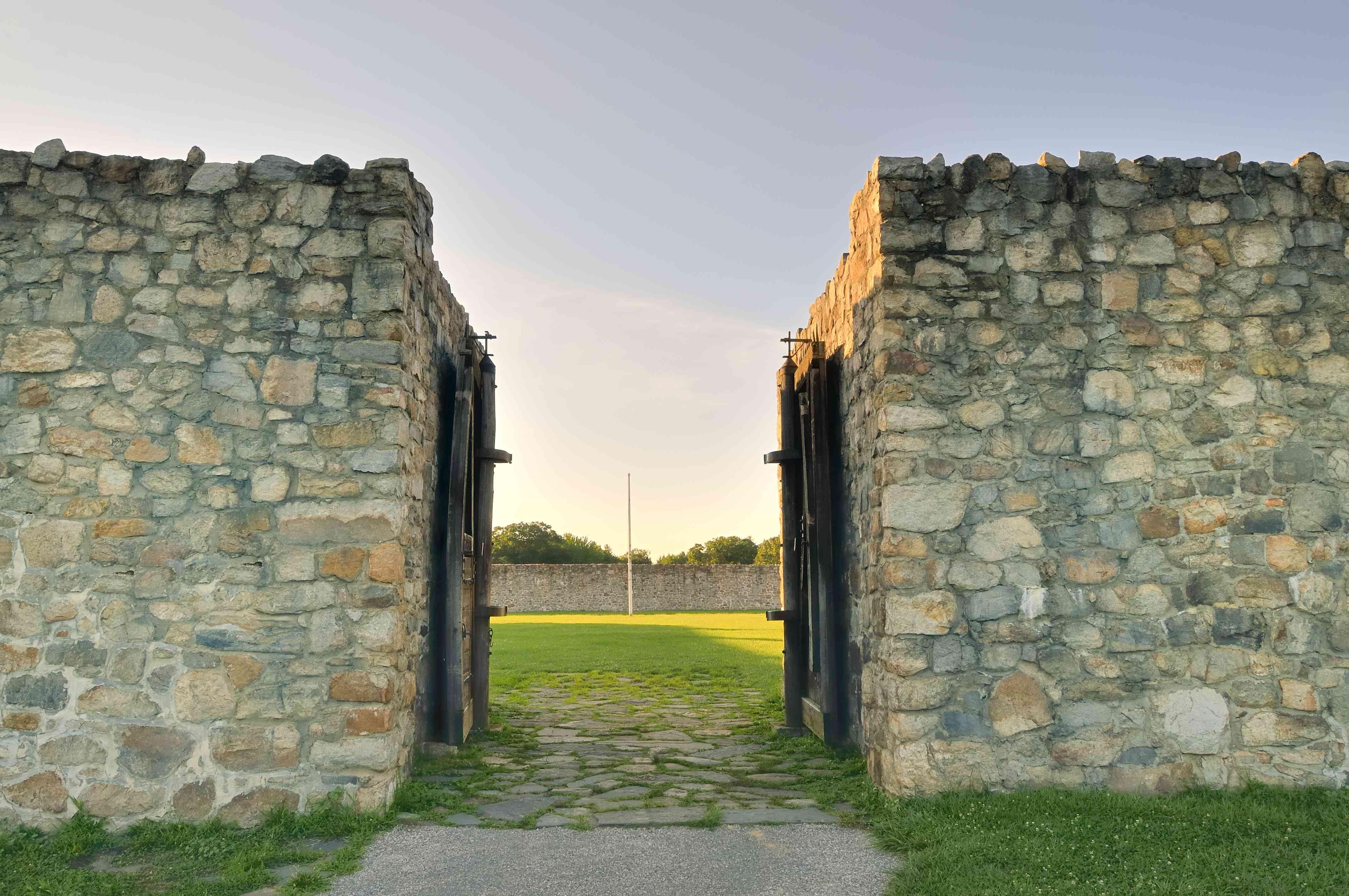 Fort Frederick Entrance