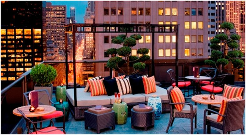 Peninsula Hotel Rooftop Salon De Ning New York