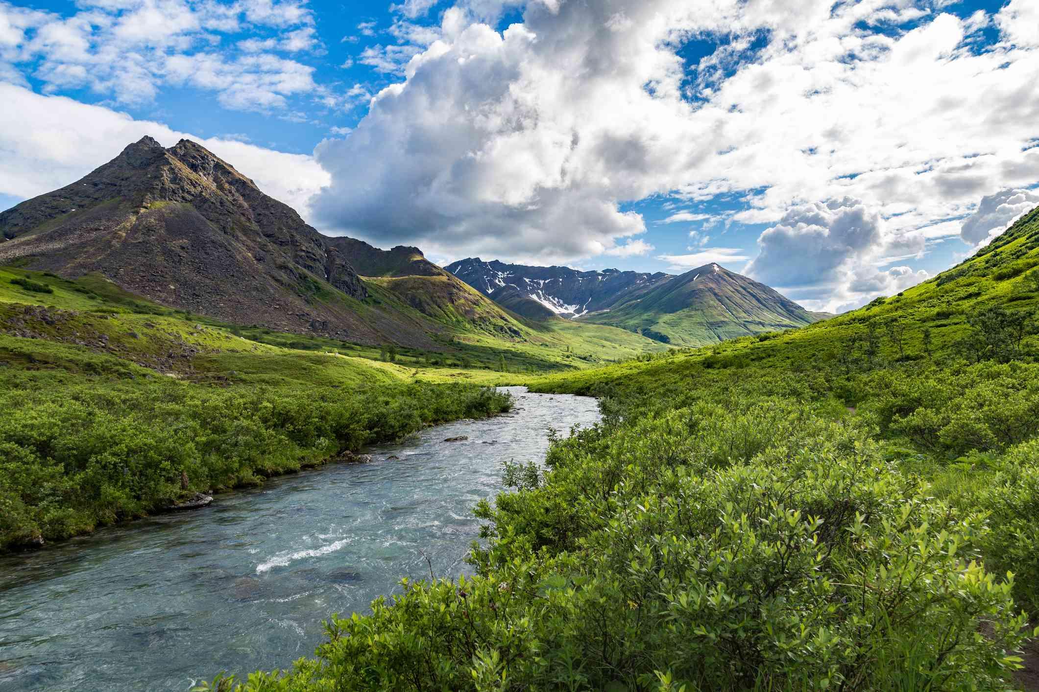 Little Susitna River in Hatcher Pass, Alaska