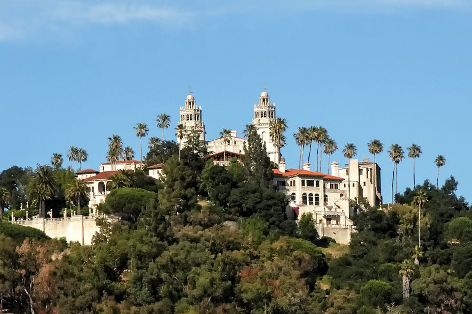 Hearst Castle - Hilltop View