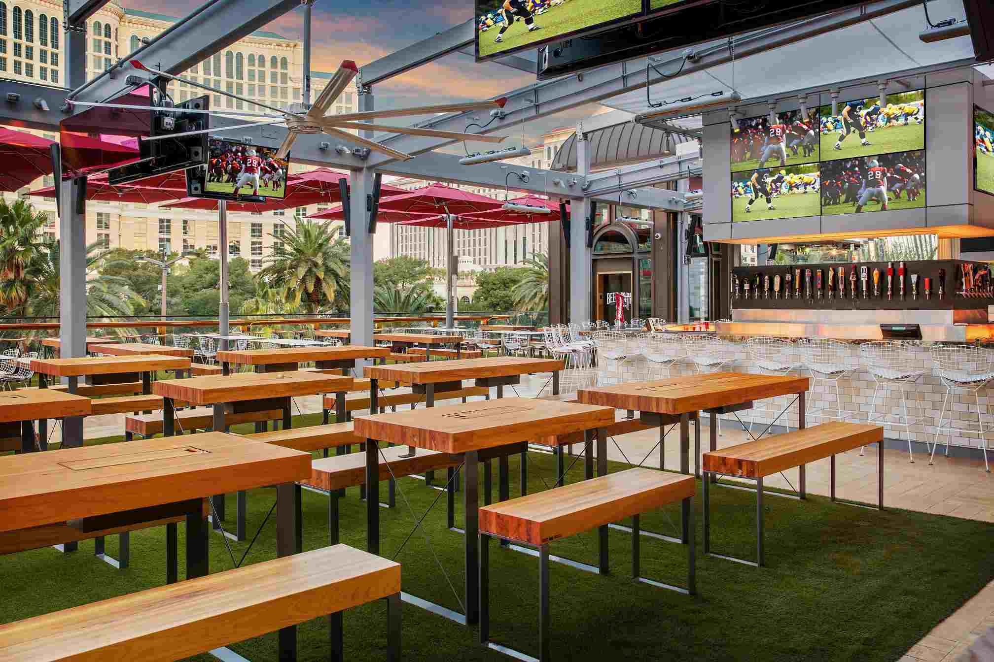 Beer Park at Paris Las Vegas