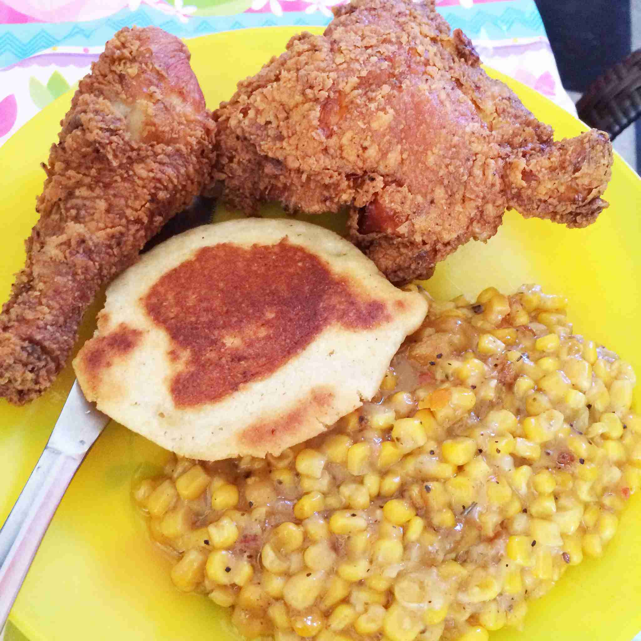 Fried Chicken at Alcenia's