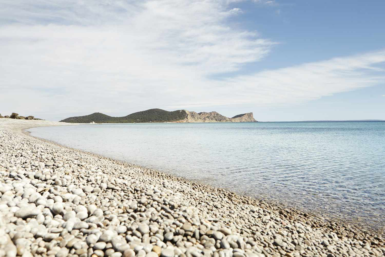 Cala Codolar beach in Ibiza