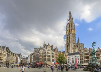 Grote Markt, the center of Antwerp