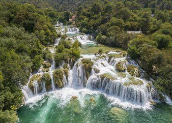 Krka National Park Waterfalls, Croatia