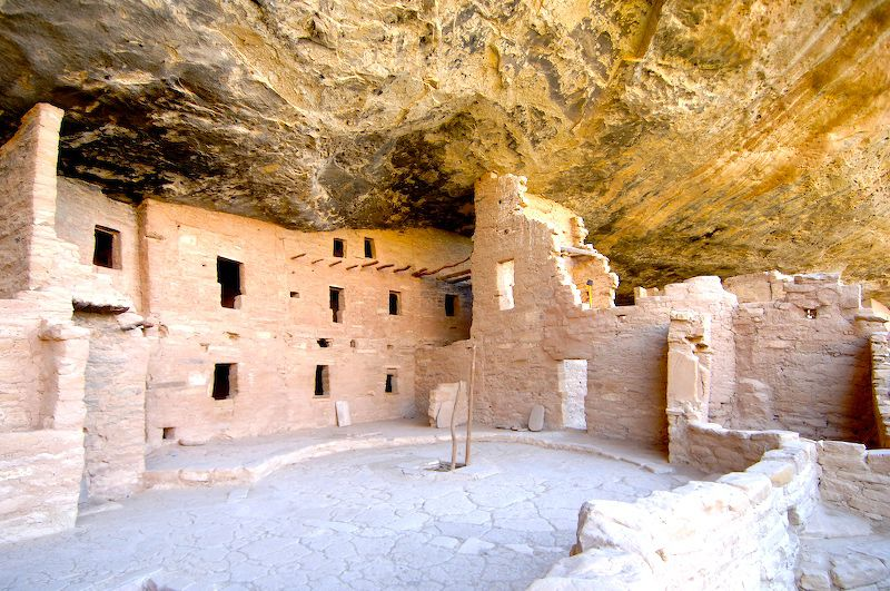 The Balcony in House Mesa Verde National Park
