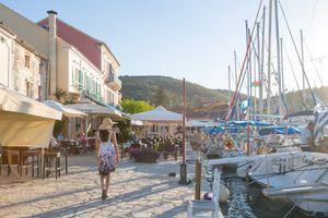 Greek port
