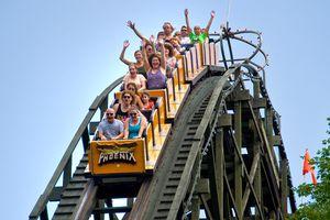 Knoebels roller coaster