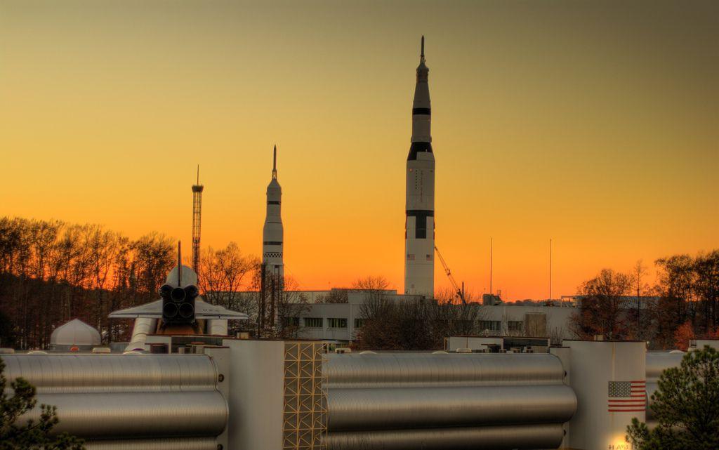The U.S. Space and Rocket Center in Huntsville, Alabama.