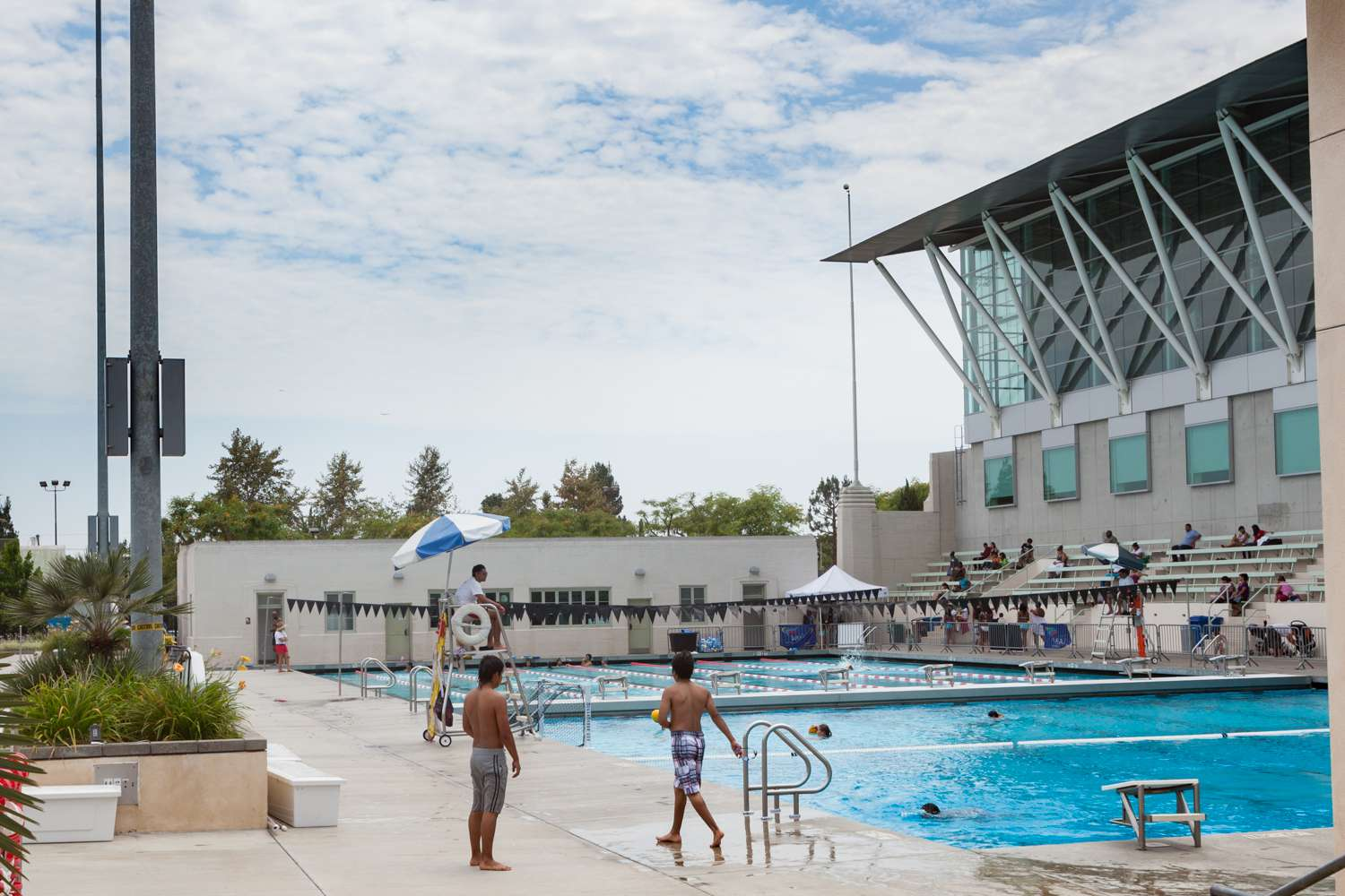Los Angeles Swimming Stadium at Exposition Park