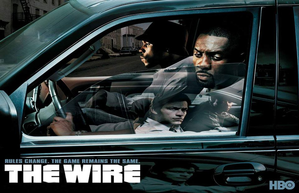 The Wire on HBO ad cover