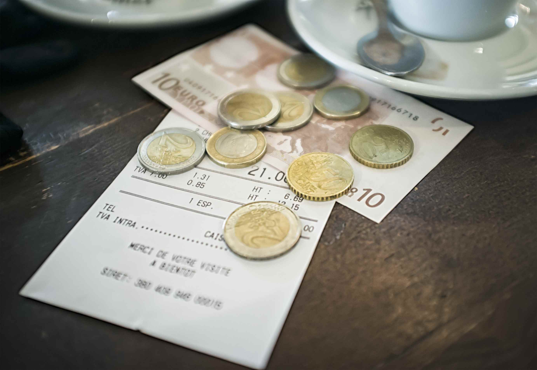 European Cafe Bill
