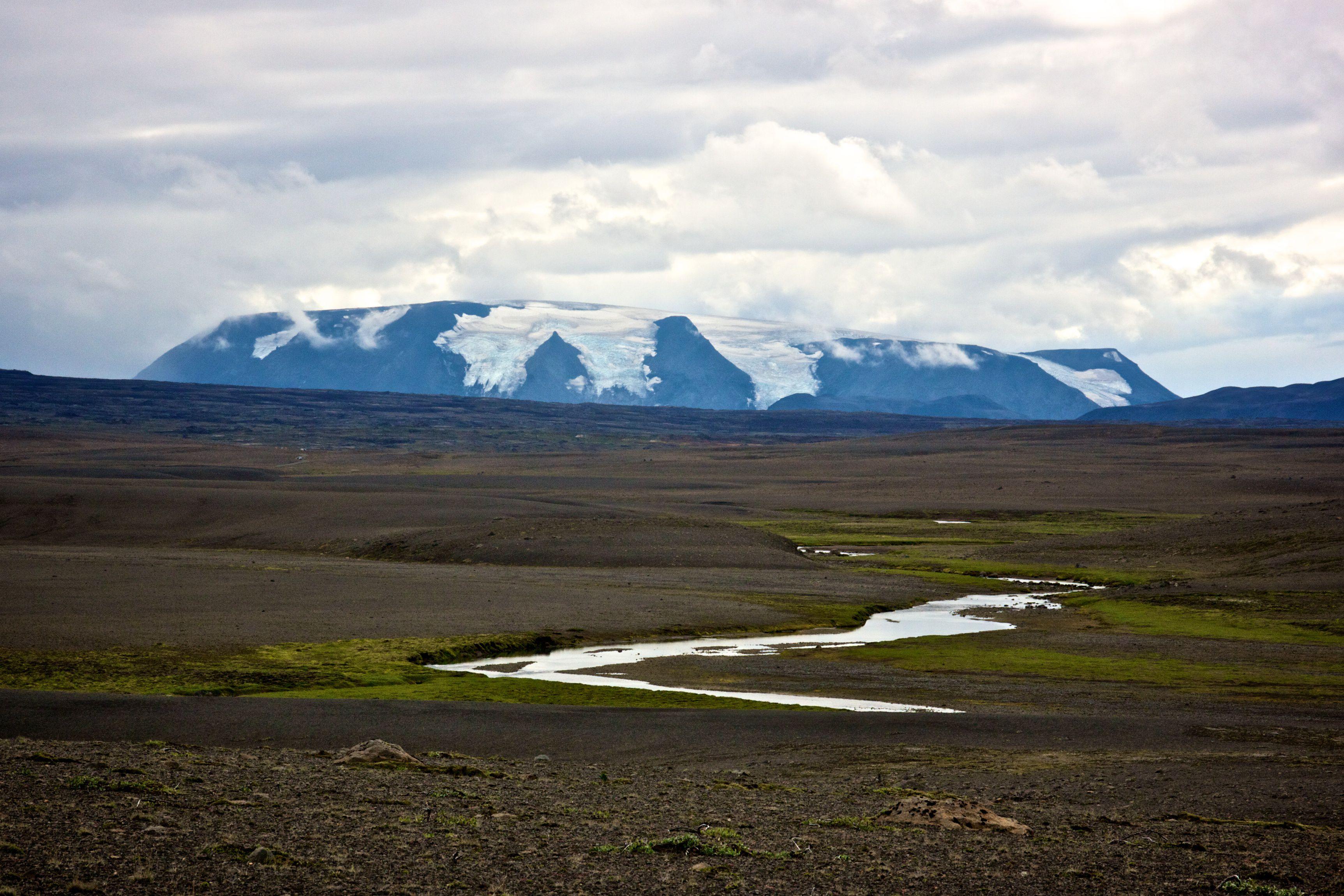 Hofsjokull Glacier