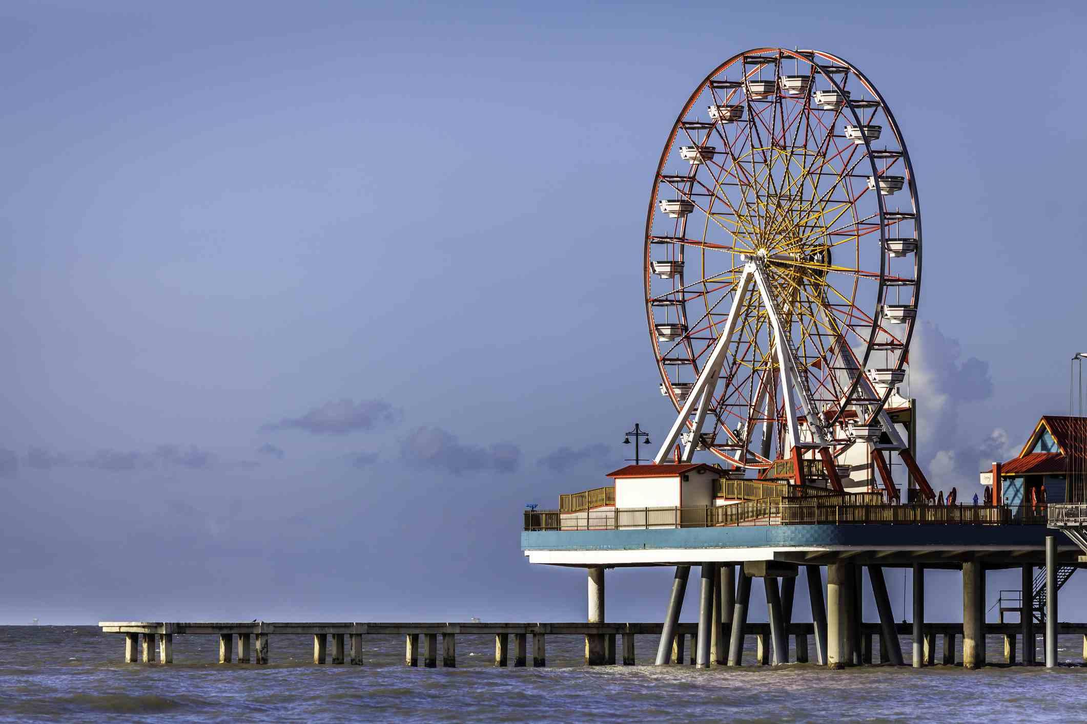 Ferris wheel on The Galveston Pleasure Pier