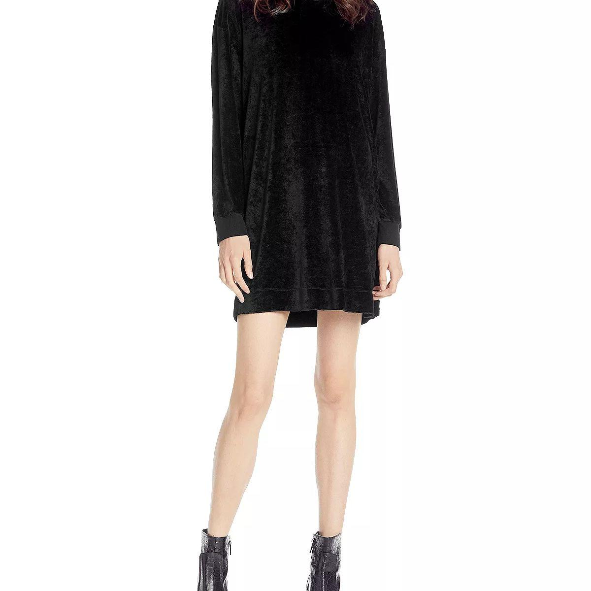 60886d48030 Best Velvet  Michael Stars Vali Velvet Crew Neck Dress