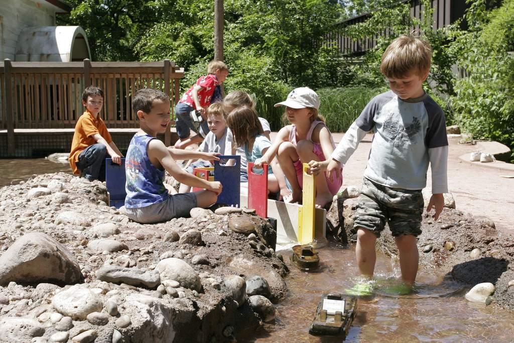 Jardín de niños en el jardín botánico de Missouri