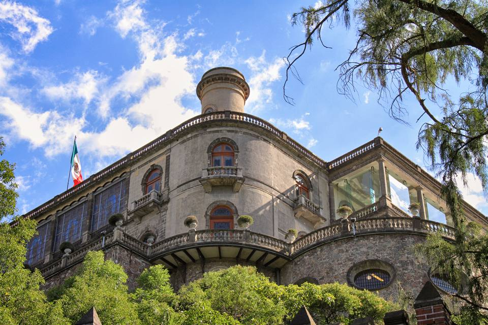 El Castillo de Chapultepec (The Chapultepec Castle) in Mexico City, Mexico