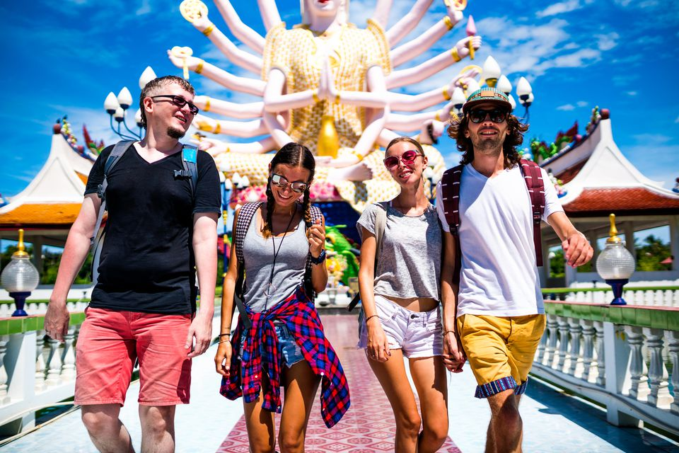 Backpackers in Thailand