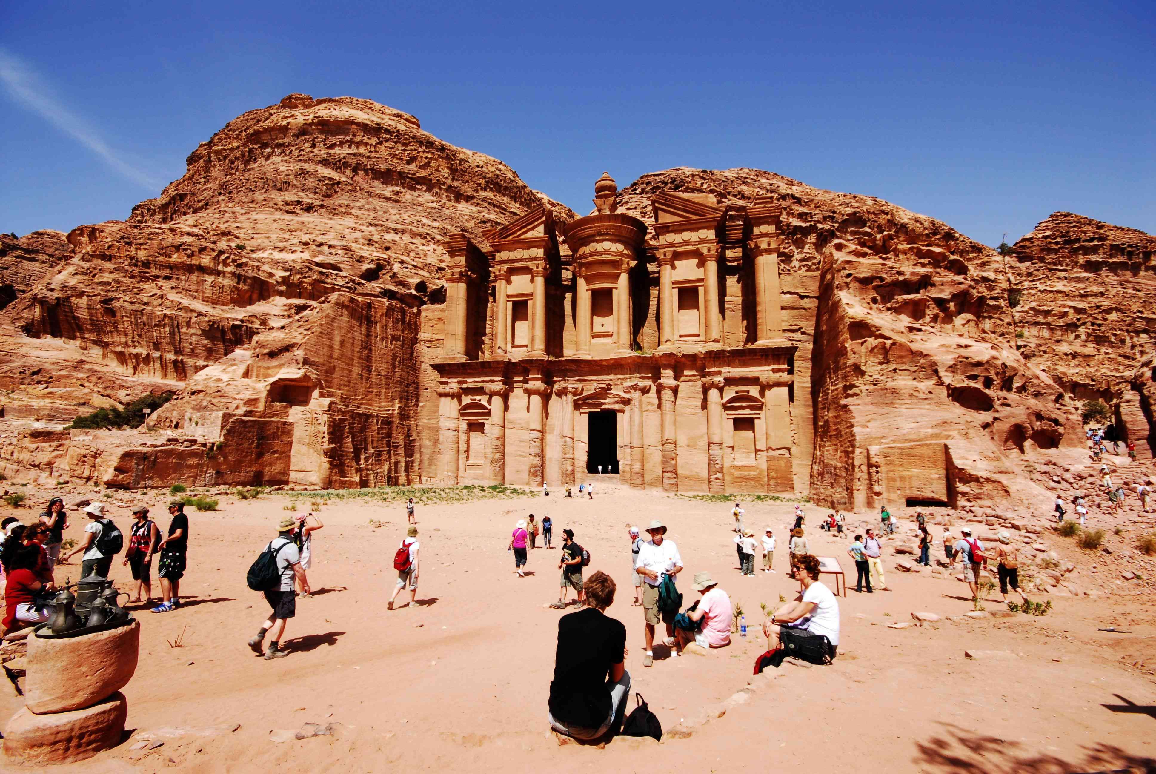 Main site of Petra