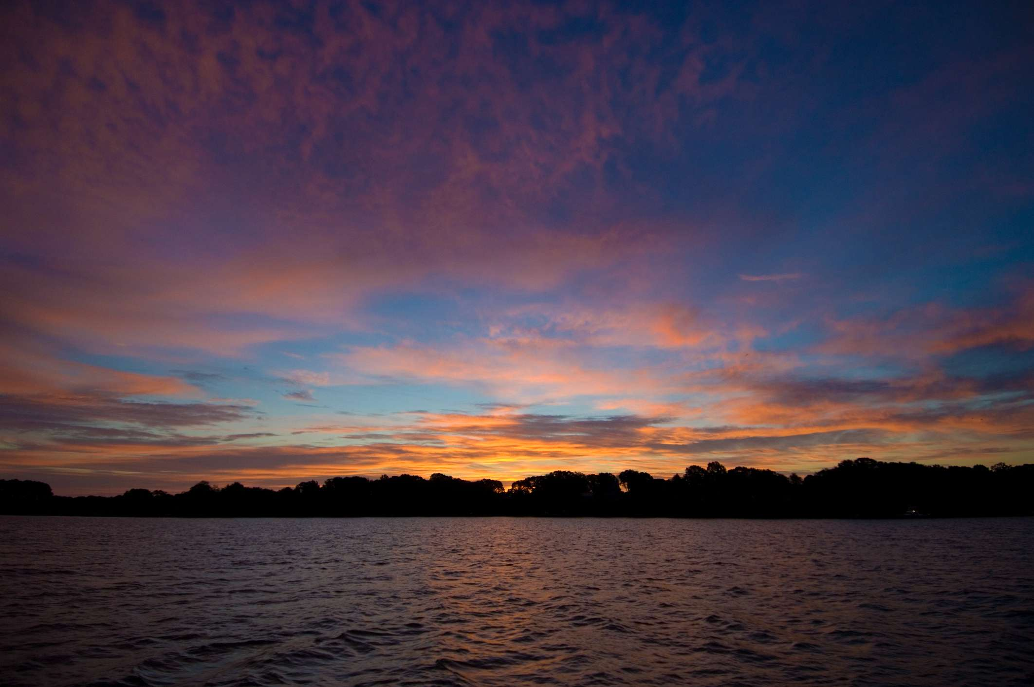 Dawn on the Chester River, Chestertown, Maryland