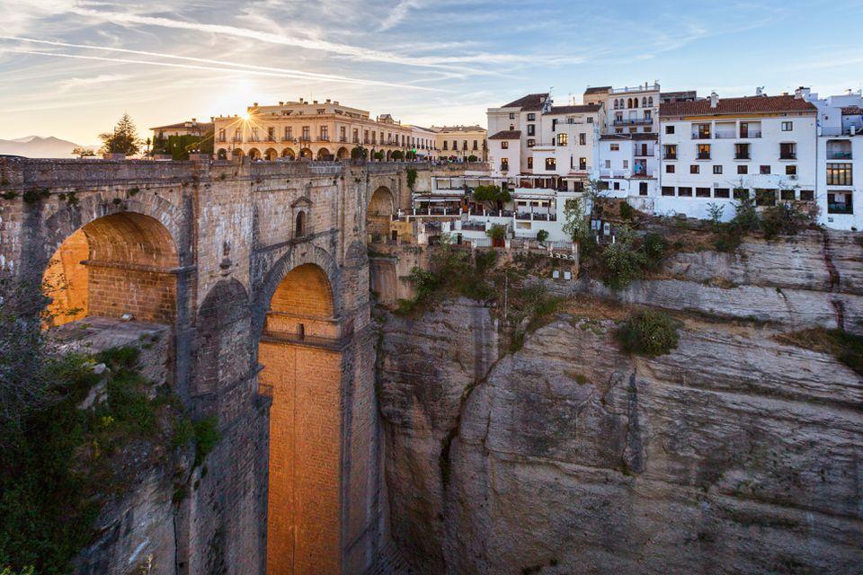 Puente Nuevo puente en Ronda