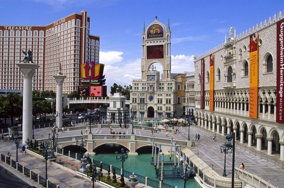 The Venetian Hotel And Las Vegas