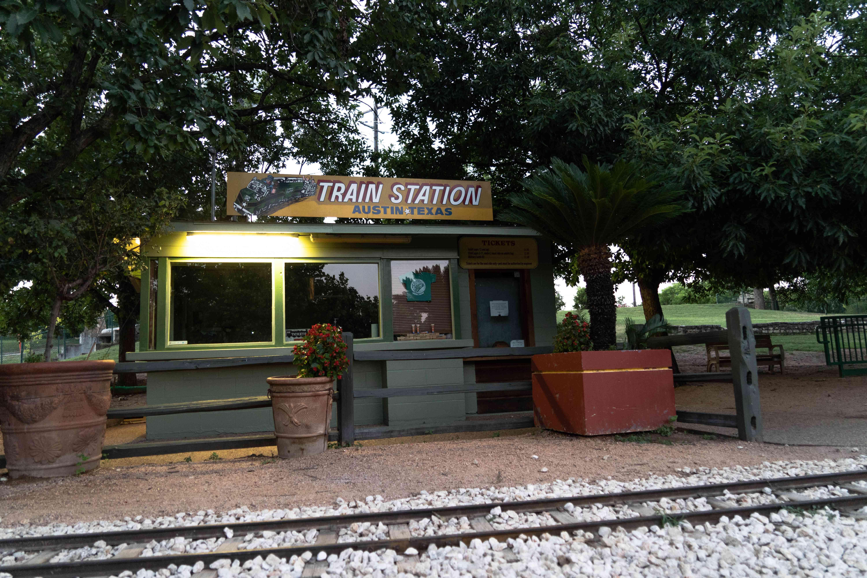 Zilker Train Station
